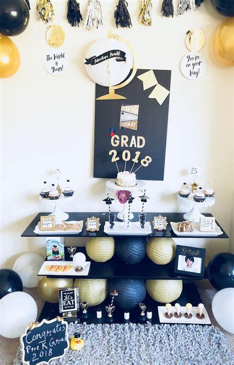 kara s ideas preschool graduation kara s 661 | Preschool Graduation Party via Karas Party Ideas KarasPartyIdeas.com10