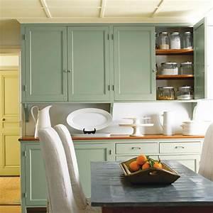 vert a l39horizon cuisine inspirations decoration et With idee deco cuisine avec cuisine gris et vert
