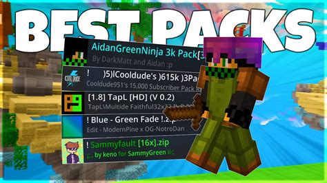 The Best Bedwars Texture Packs Hypixel Bedwars Youtube
