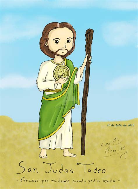 San Judas Tadeo En Caricatura