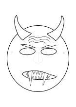 masken basteln maskenvorlagen  drucken