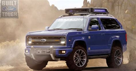 ford bronco   solid axles sourced  dana