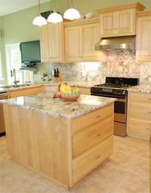 cherry kitchen island traditional birch kitchen cabinets davis haus