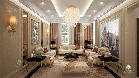 modern villa interior design  dubai  year spazio