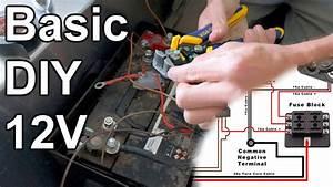 Basic Diy 12v Wiring