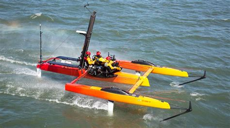 Sailing Boat With Kite by Go Fly A Kite Professional Boatbuilder Magazine