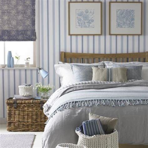 Maritimes Schlafzimmer Schlafzimmer In Weiss Und Blau Einrichten by Country Trifft Maritim Feines Schlafzimmer In Blau Wei 223