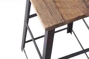 Tabouret Bar Vintage : tabouret de bar industriel carr ta02 rose moore ~ Preciouscoupons.com Idées de Décoration