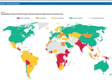 map shows  climate change  hit  economies