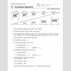 Image Result For Acid And Base Worksheet  Chem  Chemistry, Chemistry Lessons, Teaching Chemistry