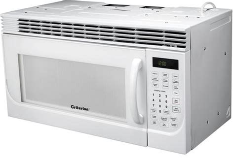 Criterion® 16 Cu Ft White Overtherange Microwave At