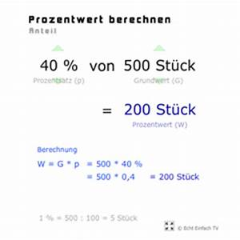 Prozentwert Berechnen Arbeitsblatt : lektion g16 prozente prozentrechnung matheretter ~ Themetempest.com Abrechnung