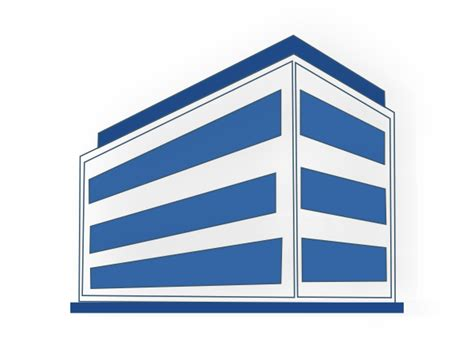 clipart bureau commercial buildings clip at clker com vector clip