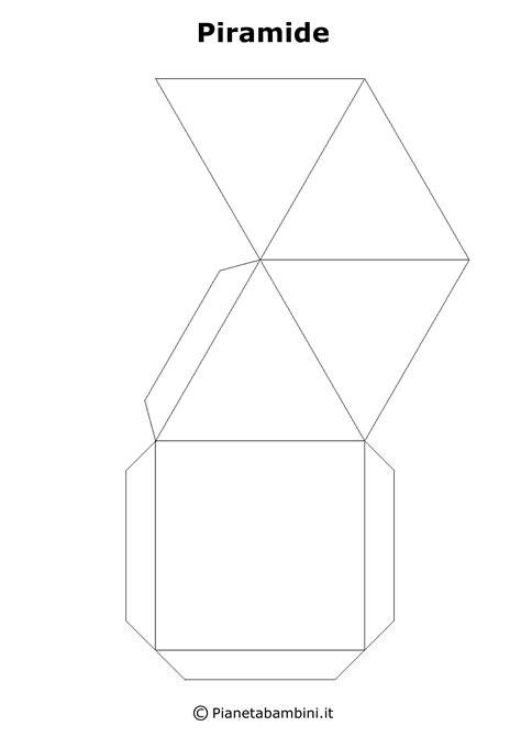 figure geometriche solide da ritagliare figure solide da costruire