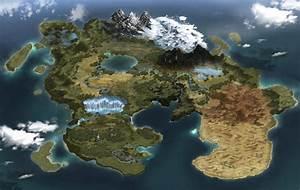 ArtStation - Fantasy Map, LEE JINHAENG
