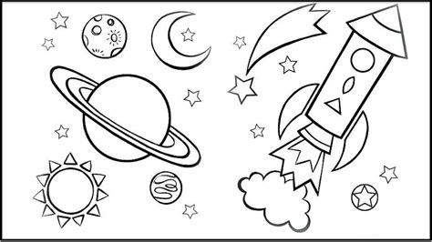outer space coloring pages   coloring themes