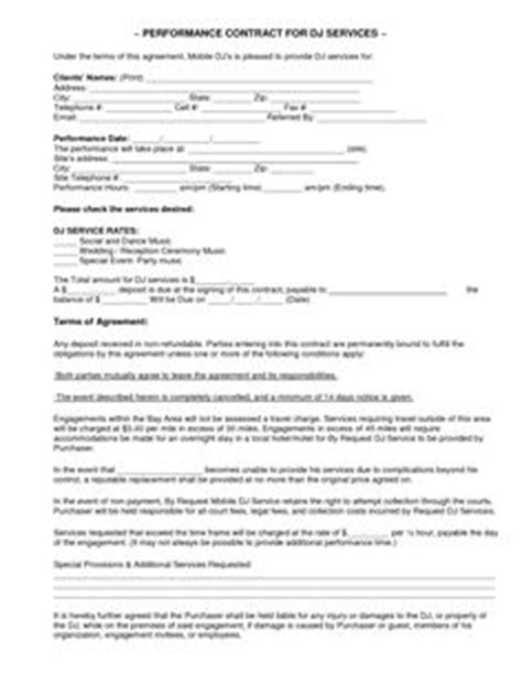 Mobile Dj Contract Template by 1000 Ideas About Places To Visit On Mobiles