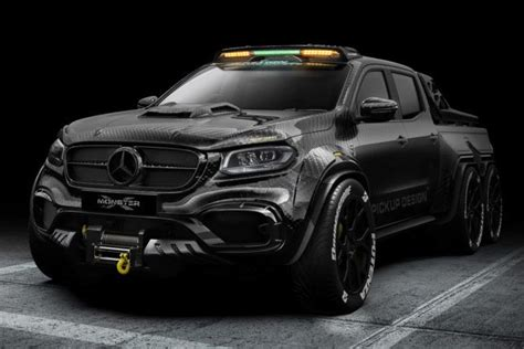 There are no translations available. Mercedes-Benz X-Class EXY Monster X 6X6 Concept | HiConsumption | Mercedes truck, Pickup trucks ...