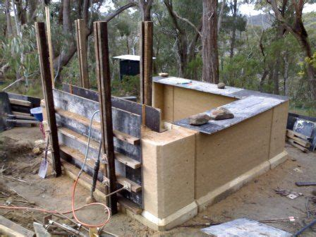rammed earth shed rammed earth garden shed earth building stuctures in