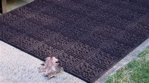aqua hog 2 x 3 indoor outdoor door mat with rubber