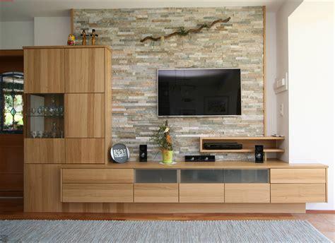 Wohnzimmer Eiche Modern by Tischler Wohnzimmer In Eichenholz Listberger Tischlerei