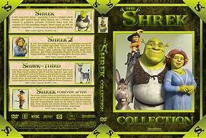 Shrek Collection (4) dvd cover (2001-2010) R1 Custom