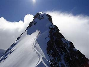 Dufourspitze summit ridge from Sattel | Zermatt | The Alps ...