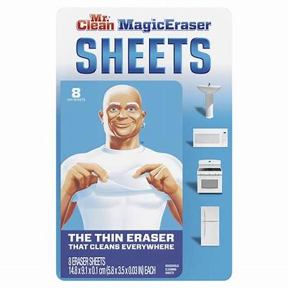 Eraser Magic Sheets Clean Mr Cleaning Dry