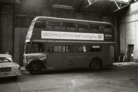 rt decimalization bus   abbey wood garage