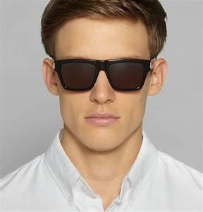 Lyst - Saint Laurent Sl5 Square-Frame Acetate Sunglasses ...