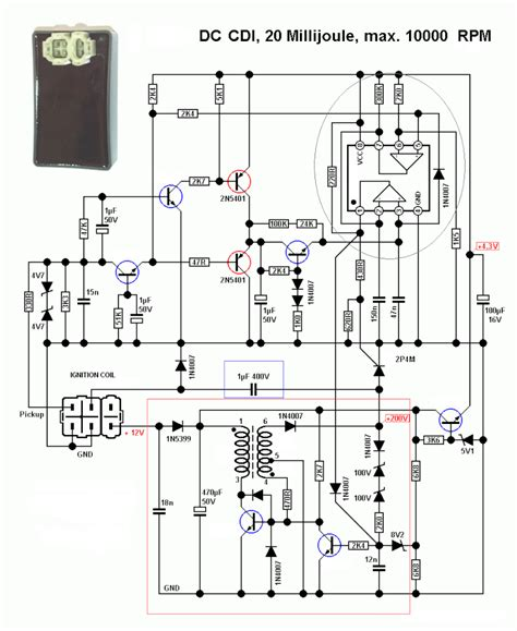 Pin Cdi Wiring Diagram Fuse Box