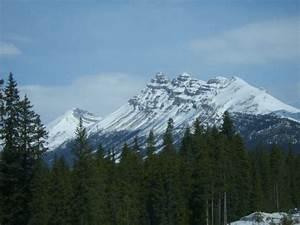 Beautiful Snowy Mountains photo Calgary Canada