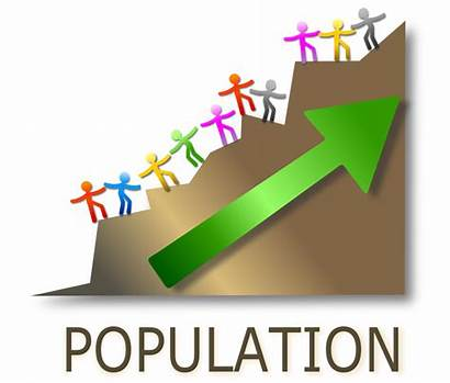 Population Clipart Growth Crowd Transparent Increasing Webstockreview