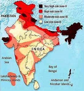 India Map Earthquake Zoning