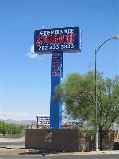 Pole Signs Pylon Sign Stephanie Storage