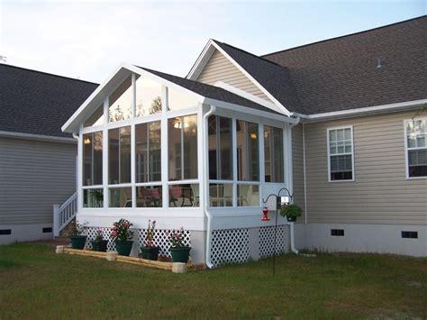 Glass Sunrooms  Carolina Home Exteriors