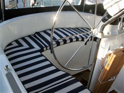 Custom Made Boat Cushions by Welcome To Ship Shape Bedding