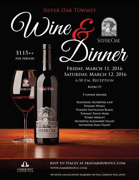Wine Dinner Menu Template Wine Dinner Template Wine Dinner Event