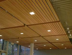 Wood grid panel for suspended ceiling - ASU WALTER
