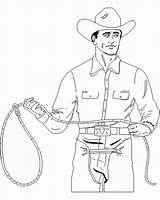 Cowboy Coloring Printable Western Template Guns Country Coloring2print sketch template