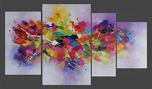 Tableau Deco Maison : tableau color bricolage maison et d coration ~ Teatrodelosmanantiales.com Idées de Décoration