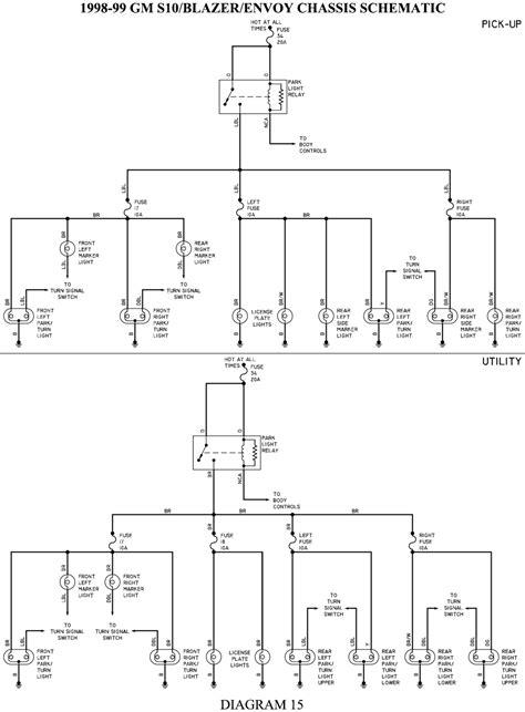 1999 S10 Wiring Diagram by 1999 Chevrolet Truck S10 P U 4wd 4 3l Sfi 6cyl Repair