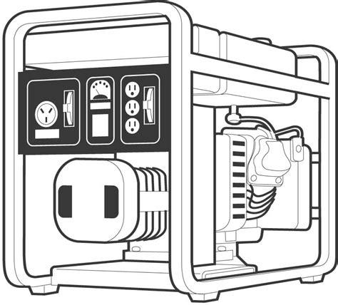 clipart electric generator  clip art images