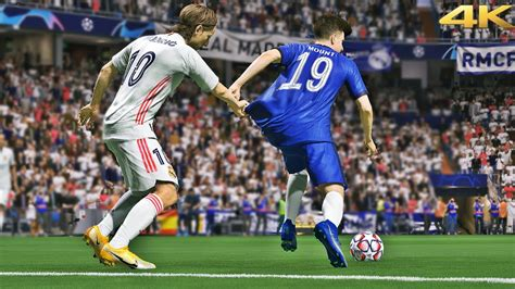 FIFA 21 - Chelsea vs Real Madrid   UCL Gameplay PS5™ [4K ...