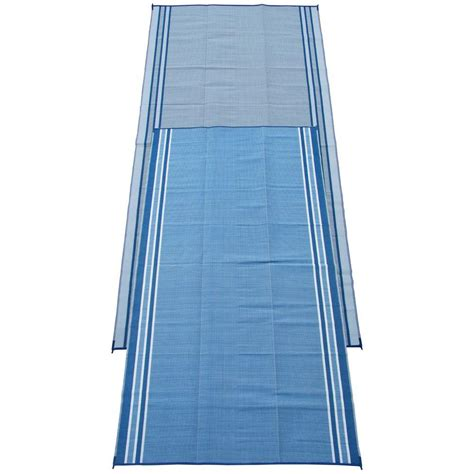 rv patio mats 9x18 fireside patio mats hawaiian blue 9 ft x 18 ft