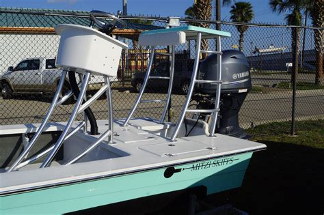 Skiff With Tower by 2016 New Mitzi Skiffs 17 Tournament Tower Flats