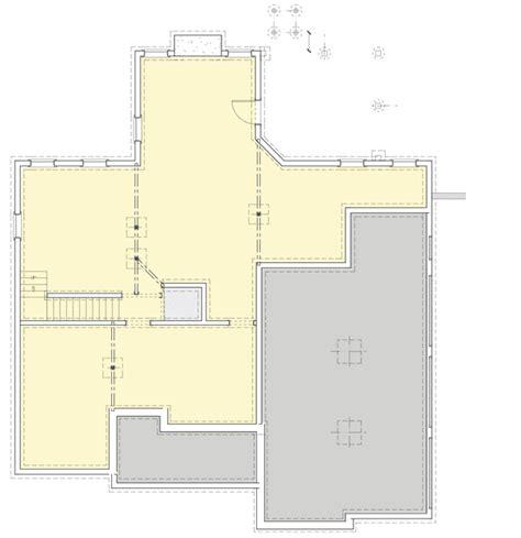 craftsman house plan gem ga  floor master