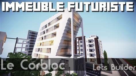 Minecraft  Immeuble Modernefuturiste Youtube
