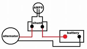 Wiring A Shunt  Ammeter Into A 24v Dc Charger