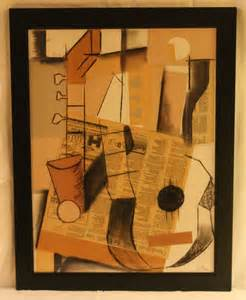 Pablo Picasso Cubist Collage